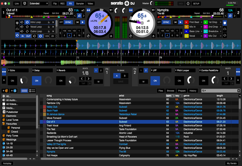 Download Serato DJ 1.7.3 for Mac with Crack