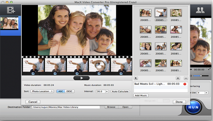 MacX Video Converter Pro 6.1 for mac