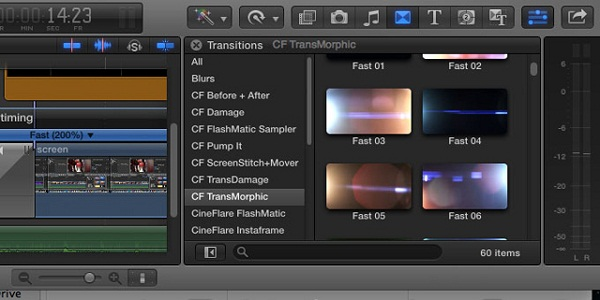 CineFlare Transmorphic For Final Cut Pro X Crack