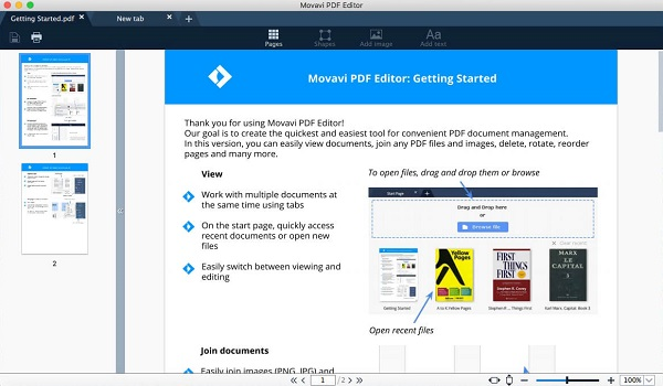 download Movavi PDF Editor 1 for mac full cracked